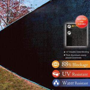 Heavy Duty Privacy Screen Fence Mesh Windscreen For