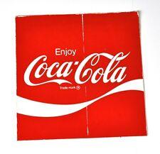 COCA COLA COKE Adesivo 10 x 10 cm USA 1970er sticker decal-ENJOY LOGO