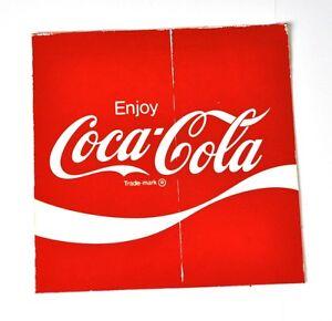 coca cola coke aufkleber 10 x 10 cm usa 1970er sticker. Black Bedroom Furniture Sets. Home Design Ideas