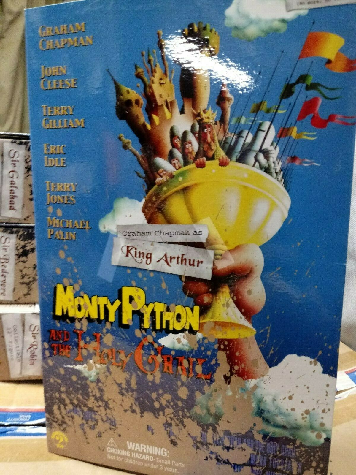 Monty Python Holy Grail Knight King Authur 1 6