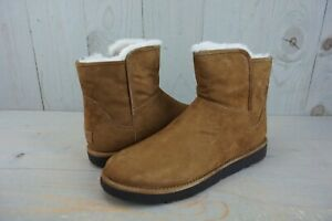 fa7fb294b1d Details about UGG ABREE MINI SUEDE BRUNO BROWN 1016548 WOMENS BOOTS US 11  NIB