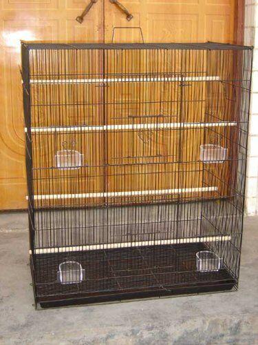New Large Bird Cockatiel Sugar Glider Finch Parakeet Flight Breeder Cage 120