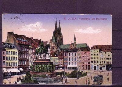 2019 Neuer Stil Gelaufene Ansichtskarte Köln europa:11341 heumarkt- Elegant Und Anmutig