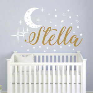 Details About Name Wall Decals Baby Nursery Decal Stickers Vinyl S111