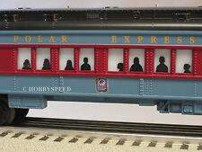 LIONEL 10TH ANNIVERSARY POLAR EXPRESS Train Coach 6-81101 lighted car 25101-NEW!