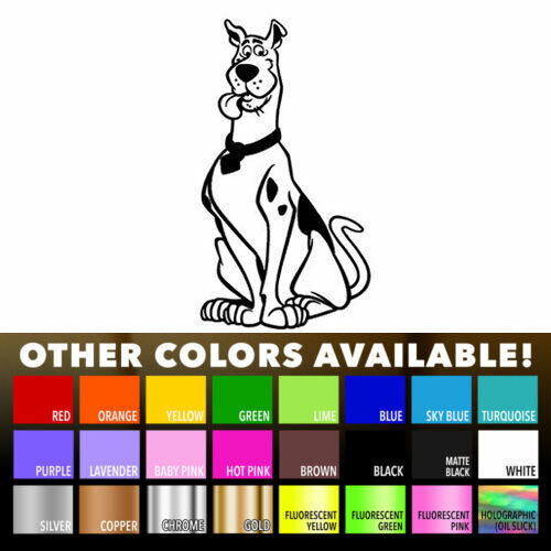 Scooby Doo Dog Cartoon Decal Sticker for Wall Car Wondow Jeep Laptop Bike Helmet