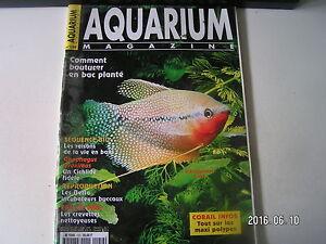 **a Aquarium Magazine N°159 Trichogaster Leeri / Centropyge Ferrugatus Prix De Vente Directe D'Usine