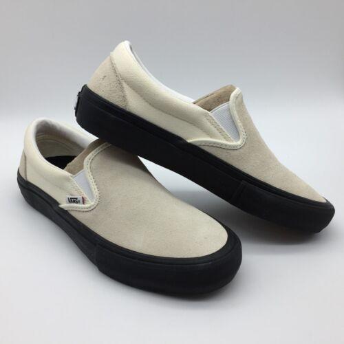 Blancas Cordones Sin Leer Negro clásicas Hombre Pro Zapatos mujer Vans Sqn6w8vRIS