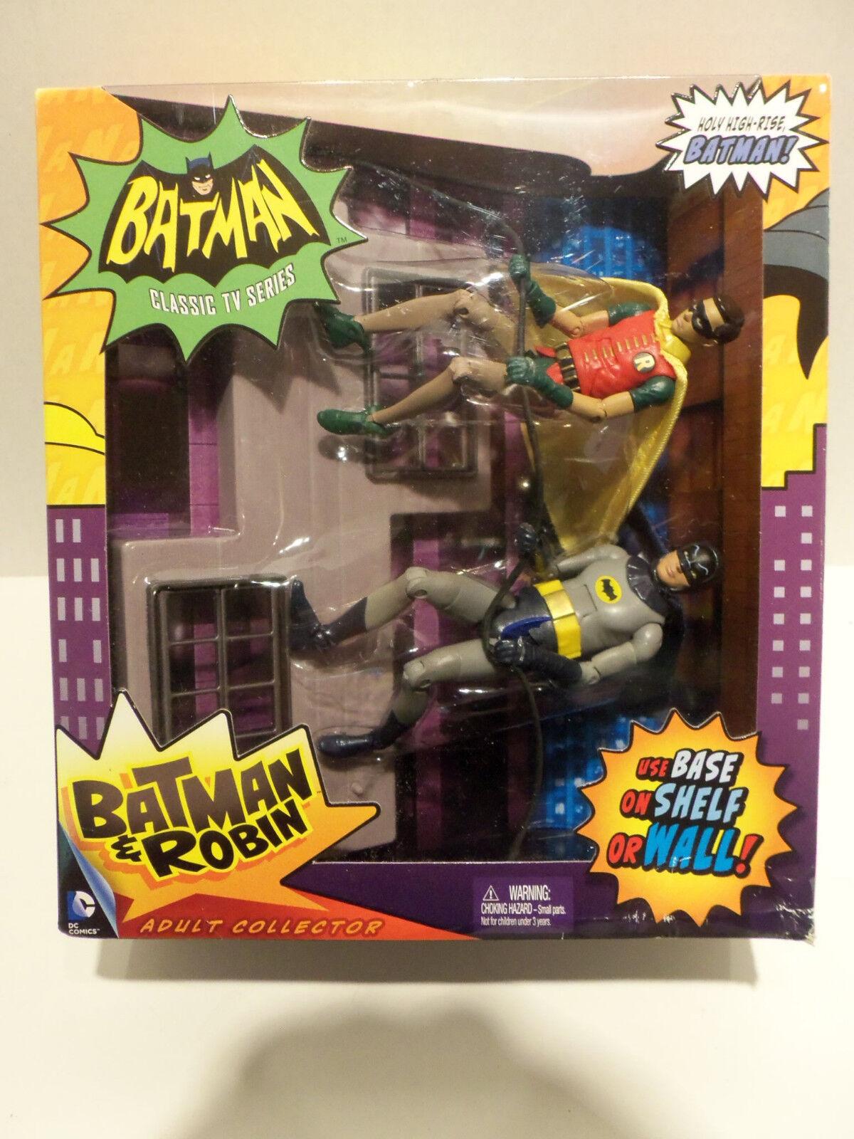 Die klassische tv - serie batman batman & robin erwachsene sammler 1966 abbildung mattel
