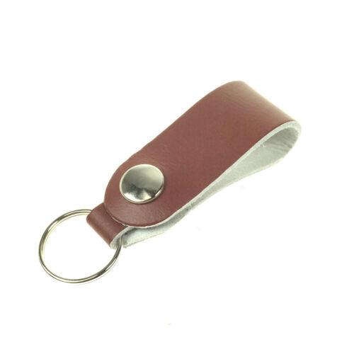 New Quality Handmade In England 100/% Real Leather Hanging Belt Lanyard Keyrings