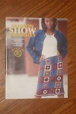 New! Huge Variety Knit & Crochet Adult sz Patterns Book Lion Brand Yarn Shawl