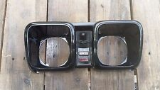 1978 Toyota Hilux Pickup Truck Guage Cluster Bezel Face USED NICE Black 72-78