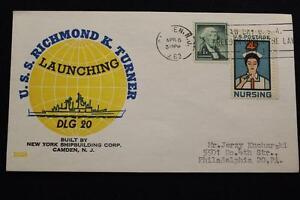 Navale-Cover-Beck-1963-Slogan-Annullo-Postale-Launch-Uss-Richmond-K-Gira-DLG-20