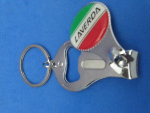 LAVERDA KEY RING NAIL CLIPPER BOTTLE OPENER #281