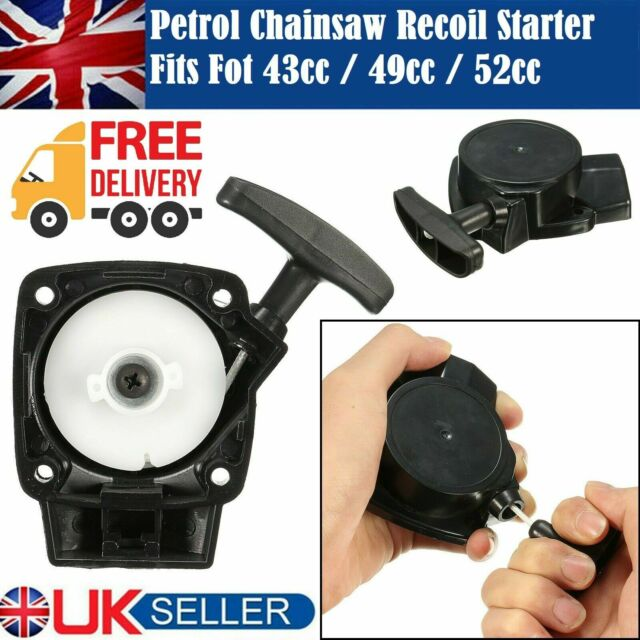 Recoil Pull Start Starter Handle Fits Chainsaw Hedge Cutter Strimmer Brushcutter
