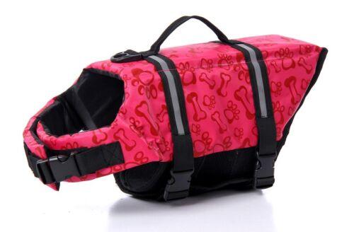 Pet Safety Vest Dog Cat Life Jacket Preserver Puppy Large Swimming Coat Vest