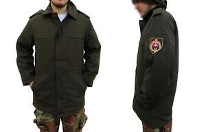 New Unissued Slovakian army M98 combat parka jacket coat military olive drab