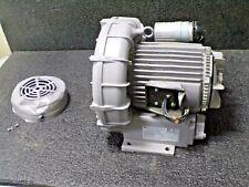 Fuji Electric 25hp Regenerative Blower 1 Phase 200 230 V 1 12 Fnpt Inlet