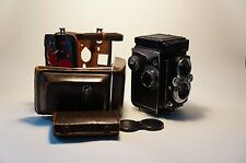 Yashica 635 TLR with 35mm film adapter. Free Worldwide Shipping