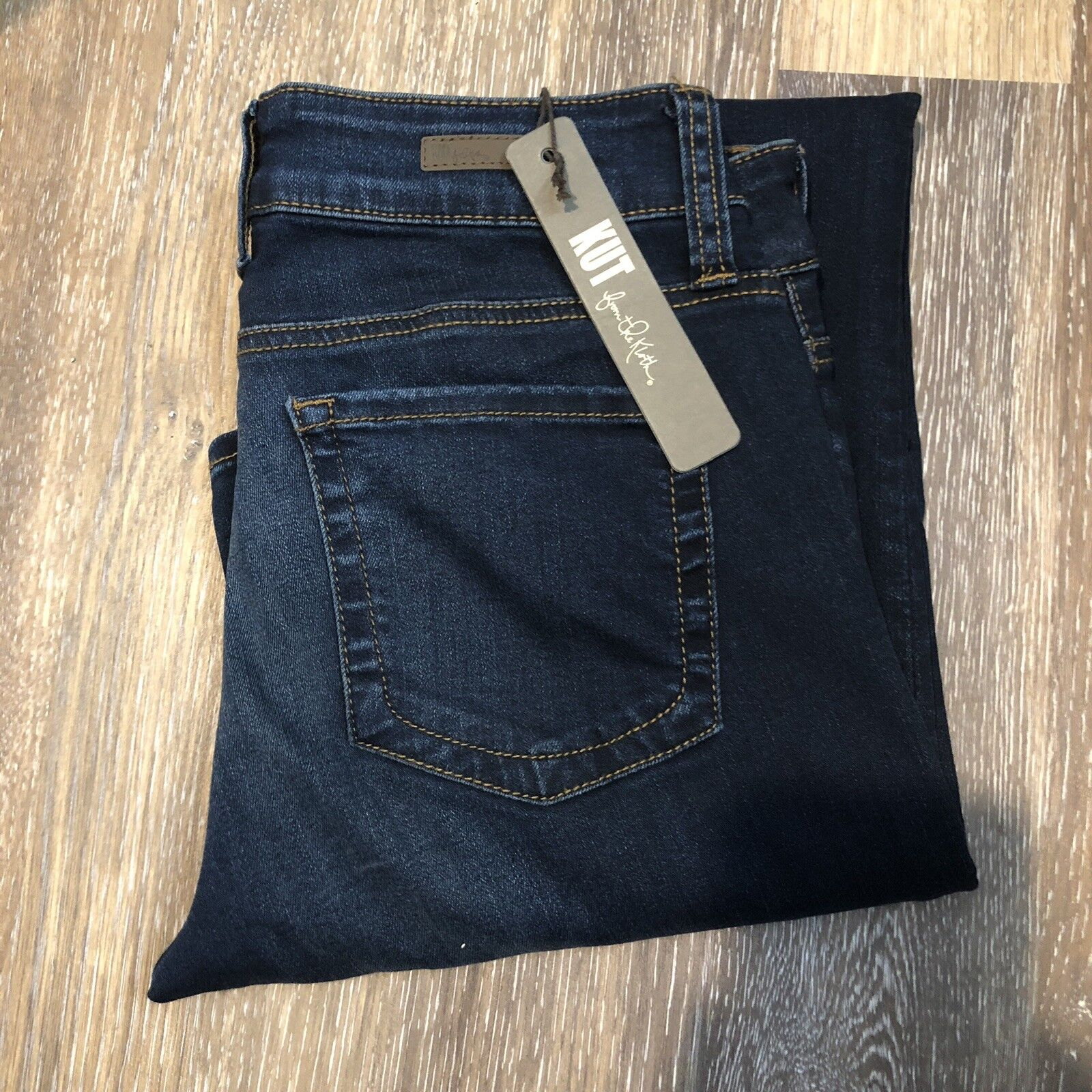New Kut from the Kloth Women's Size 4 Natalie High Rise Bootcut bluee jeans
