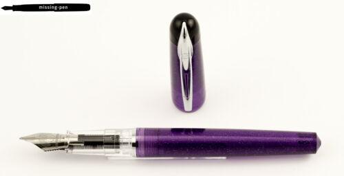 Glitter with M-nib Violet Waterman Kultur Fountain Pen in Purple