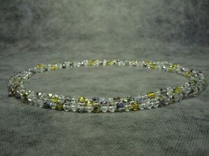Vintage-Czech-Bohemian-Long-Aurora-Borealis-Faceted-Glass-Bead-Necklace