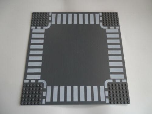 Lego 32 x 32 Stud Base Plate Dark Grey Plate Ref 1a 25cm x 25cm
