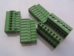 IMO-21-910M-8-Enchufe-Tornillo-Terminal-Bloque-8-vias-de-5-08mm-5-piezas-OLB013-RoHS