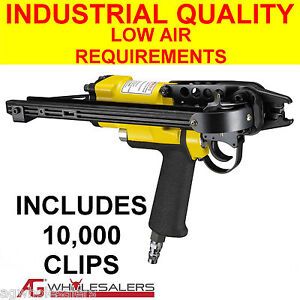 HOG RING GUN C1-16mm  MANUAL C CLIP FOR FENCE /& UPHOLSTERY