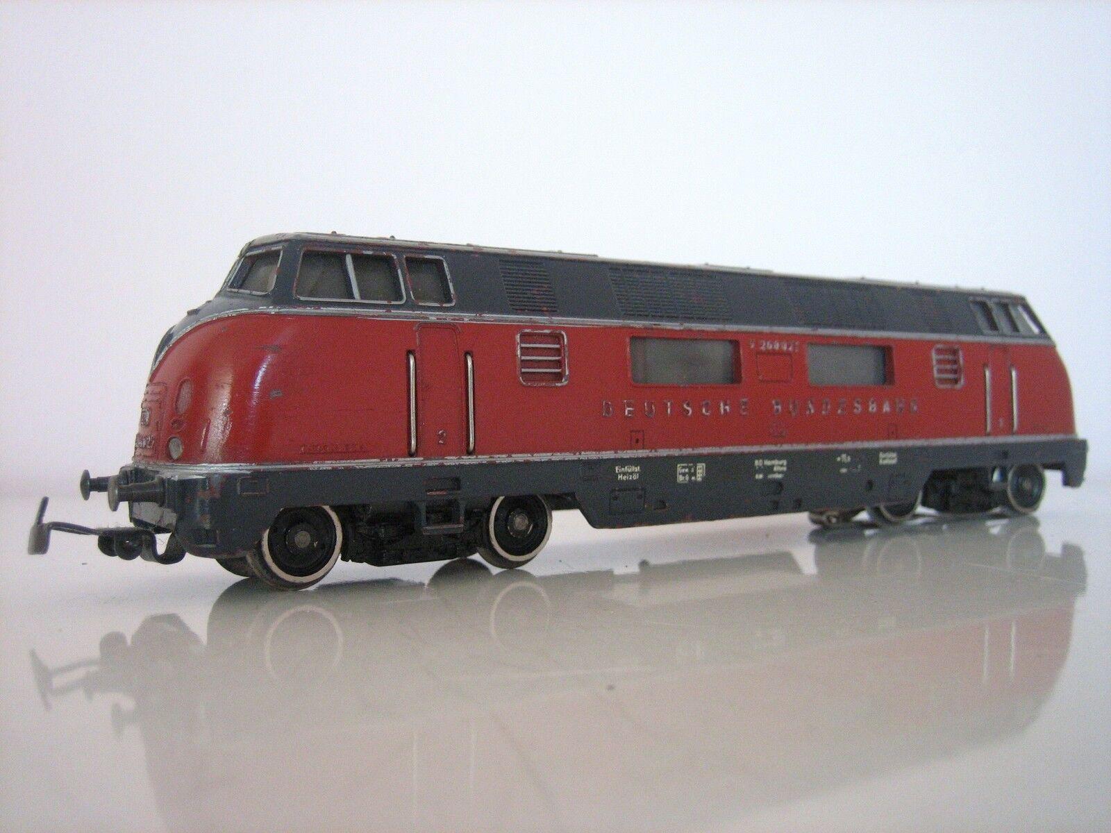 Märklin H0 3021 Diesellok V 200 Deutsche Bundesbahn