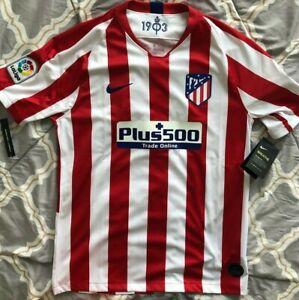 Nike Atletico Madrid Soccer 19 20 Home Jersey Size M 192498236815 Ebay