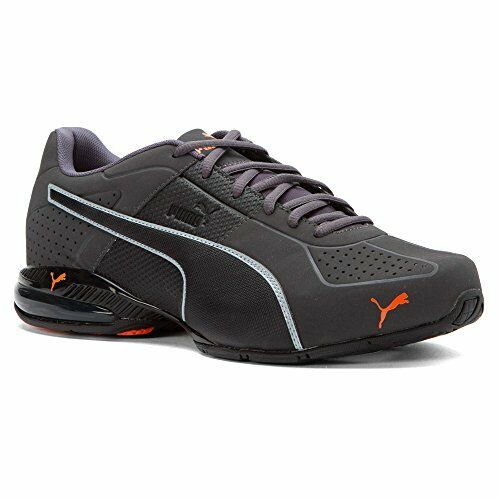 PUMA Men s Cell Surin 2 Matte Cross-trainer Shoe Black Orange 7 M US ... e24b55f97
