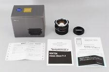 TOP MINT Voigtlander Nokton Classic 35mm F1.4 S.C Leica M Mount from Japan #1415