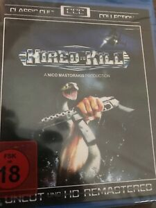 Hired-To-Kill-Blu-Ray-Region-Free-NEW-Classic-Cult-Collection