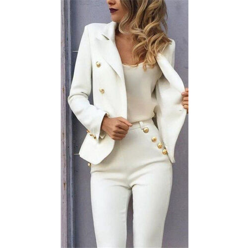Ladies Dress and Jacket Suits Formal Business Wear for Women Female Trouser Suit