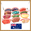 24//36 Pcs Chinese Silk Embroidery Shell Shaped Mix Color Coin Bag Purse Wallet