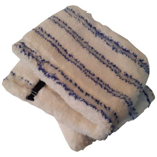 Bodentuch Wischmop Nassfaser weiss 2er geeignet für Wischer bis 40 cm lang