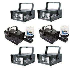 NEW-4-CHAUVET-CH-730-35-Watt-Mini-Strobe-Light-Effects-2-H700-Fog-Machines
