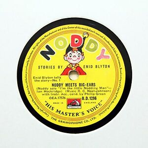 NODDY-034-Noddy-Meets-Big-Ears-034-With-Enid-Blyton-HMV-B-1296-78-RPM