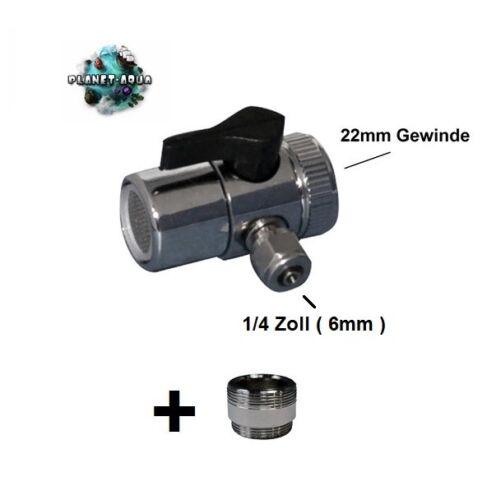 Universal Wasserhahn Adapter Anschluss Umkehr Osmose Anlage Wasserfilter Küchen