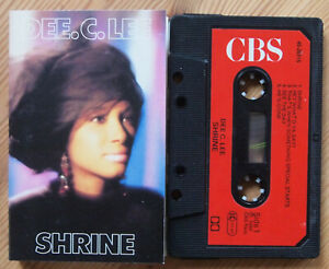 DEE-C-LEE-SHRINE-CBS-40-26915-1986-EUROPE-CASSETTE-TAPE-EX-COND-SOUL-POP