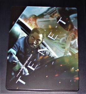 Tenet Di Christopher Nolan Limitata steelbook Doppio blu ray Nuovo & Originale
