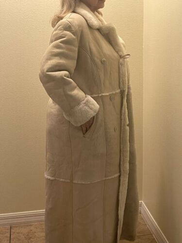 SHEARLING LADYS FULL LENGTH Shearling Coat, size … - image 1