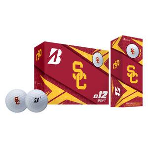 Bridgestone Golf 9CWYNCAUSC USC Trojans e12 Collegiate Soft Golf Balls, 6 Pack