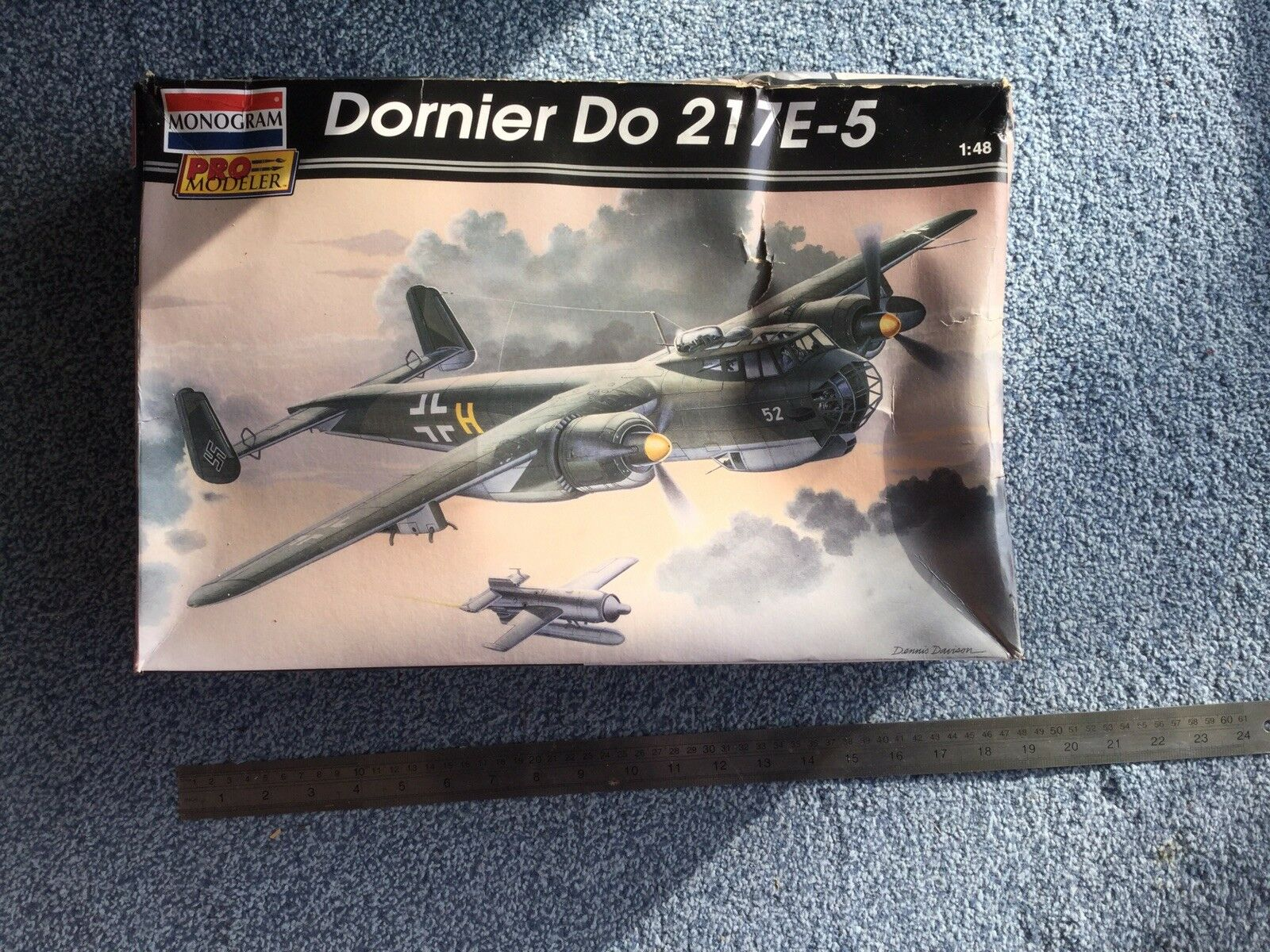 Revell Monogram 1 48 Dornier 217E-5 model kit