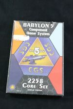 Babylon 5 Component Game System 2258 4 Player Core Set Limited Edition Toys & Hobbies