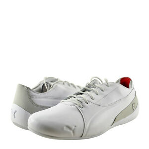 Men s Shoes PUMA SF Drift Cat Leather Lace Up Sneaker 30609602 White ... adbc8e14f