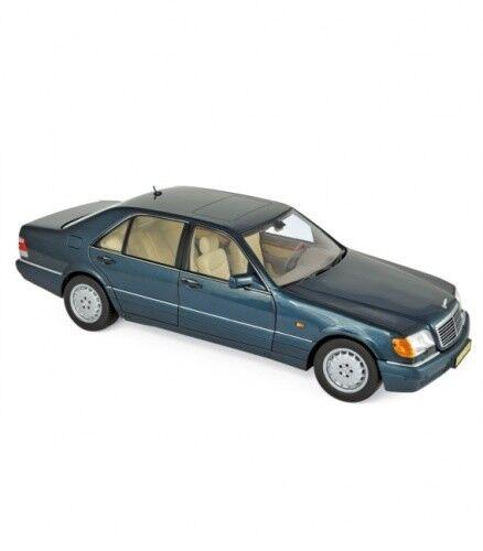 MERCEDES Benz s600 1997 verde Metallic 1 18 NOREV