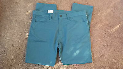 BNWT Levis 511 Line 8 Slim fit Blue Green Jeans W40 L32