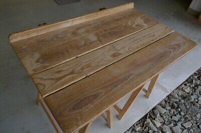 Kraftvoll Alte Tischplatte Aus Ahornholz 101 X 63 Cm, Holzplatte, Werktisch,arbeitstisch